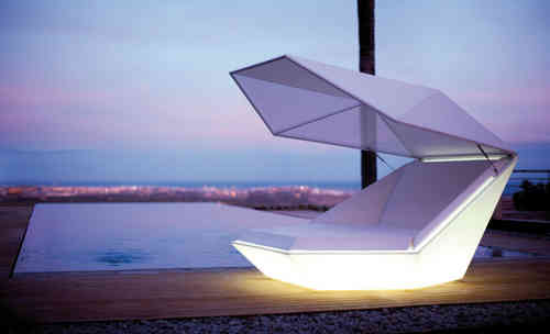 Vondom Sonneninsel FAZ DAYBED LED RGBW