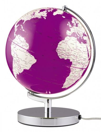 Globus emform TERRA PURPLE LIGHT
