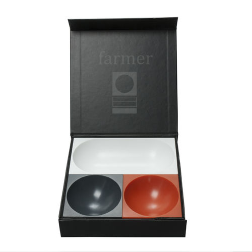 Farmer Schalenblock MAGNETIC BOWL 3er-Set