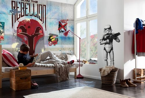 Komar Fototapete STAR WARS REBELS WALL