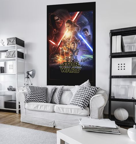 Komar Panel STAR WARS EP7 OFFICIAL MOVIE POSTER