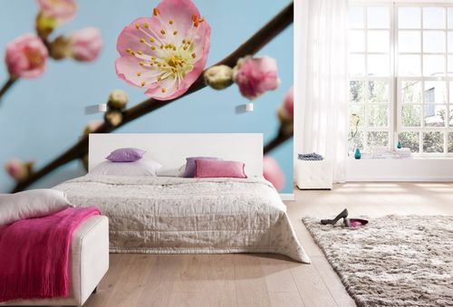 Komar Digitaldrucktapete PEACH BLOSSOM