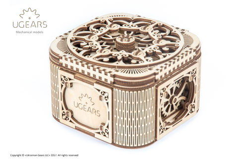 UGEARS Treasure Box / Schatztruhe