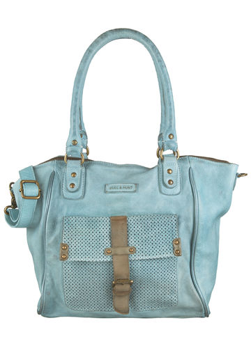 Bull & Hunt Henkeltasche BELLA LIGHT BLUE