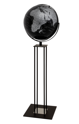 Standglobus emform WORLDTROPHY MATT BLACK NIGHT
