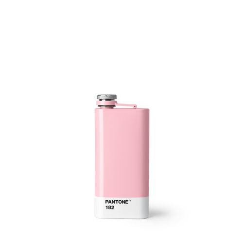 Pantone Flachmann LIGHT PINK 182