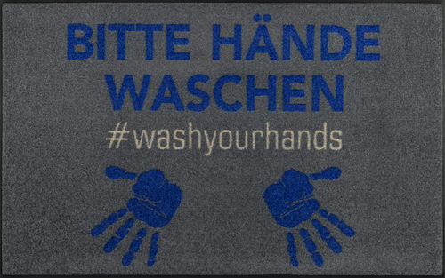 Fußmatte wash+dry by Kleen-Tex #WASHYOURHANDS